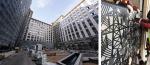 Компания GRADAS изготовила решетки лазерной резки по эскизам студии Артемия Лебедева для квартала «Искра-Парк»