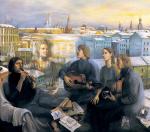 Татьяна Назаренко: «Я жила в доме, где трудно было не стать художником»