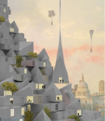 Лондонское бюро Studio McLeod и агентство Ekkist показали концепцию летающих домов