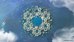 Посмотрите на проект плавучего города от ООН, способного выдержать ураганы и цунами 5 категории