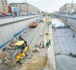 Ленинградка застряла в Балтийском тоннеле