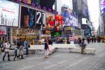 На Таймс-сквер в Нью-Йорке поставили «антитеррористические скамейки»