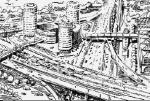 Динамика развития планировочного каркаса Москвы – от хорд к рокадам?