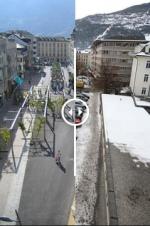 Как менялся швейцарский город Сьон