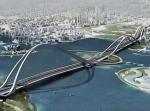 Самый высокий (арочно-вантовый мост в Дубае)
