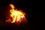 В Никола-Ленивце сожгли главный экспонат выставки «Эфемерные сокровища»