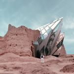 Фотопроект «Ретрофутуризм»: иранский архитектор «реставрирует» древние постройки фрагментами современных зданий
