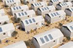 Просто добавь воды: дом для беженцев из бетонного текстиля, который застывает в течение суток