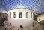 Сэр Форстер - Британскому музею. Большой Двор Британского музея, Лондон, Великобритания реконструкция 2000 год