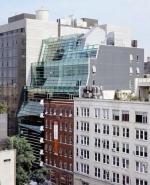 Здание-волна на Гринвич стрит: взгляд изнутри