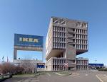 Здание Марселя Бройера в Нью-Хейвене, много лет служившее рекламным щитом для ИКЕА, превратят в бутик-отель