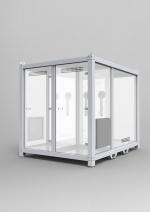Турецкий производитель мебели разработал мобильный бокс для тестирования на COVID-19 и выложил проект в открытый доступ