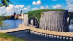 В Чехии из бетона напечатали плавучий дом