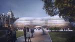 Второй Хрустальный дворец: проект Нормана Фостера для временного здания британского парламента. Оно пригодно для многократного использования