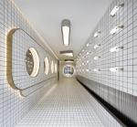 Студия PIG Design превратила туалет в китайском ТЦ в «космический корабль»
