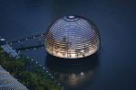 Купол на воде