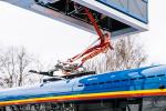 «Танцор» из пластиковых бутылок: в Клайпеде на маршрут выпустили сверхлегкие электробусы местного производства