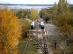 Прогулки по Волгограду (Детская железная дорога)