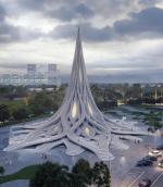 Ловец дождя: Архитекторы представили проект башни, улавливающей воду