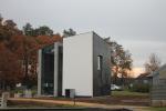 В Бельгии появился первый двухэтажный дом, целиком напечатанный на 3D-принтере