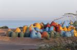 Цветные купола для цветного острова