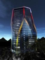 Новая башня в Китае Huaxi Urban Center
