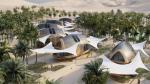 Автономное эко-поселение в пустыне из агавы и алюминия