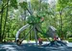 Дизайнерские детские площадки Premium Collection и MyDesign от финской компании Lappset – арт-объекты современного города.