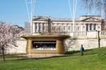 Латунный киоск появился в 300 метрах от Букингемского дворца