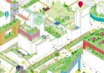 MVRDV предлагает создавать на плоских крышах Роттердама спортивные площадки, пасеки, кладбища