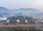 В Цзянси построили гостевые домики, напоминающие гигантские семена