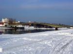 Снегопад, снегопад, если Новгород просит… Наступление настоящей зимы помешает завершить к юбилею города и Ганзейским дням все работы в кремле