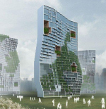 """Танцующие Квартиры"" от Unsangdong Architects"