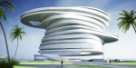 Спиральная гостиница от Leeser Architecture