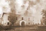 В Пскове сгорел брошенный арендатором на произвол судьбы бывший Дом предводителя дворянства