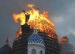 КГИОП нашел виноватого в пожаре в Троицком соборе