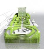 """Бульварное кольцо уйдет на воду. Архитекторы представили смелый проект """"окультуривания"""" Москвы-реки"""