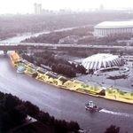 Москва-река в интерьере города