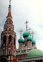 Пасхальные храмы старой Москвы