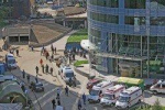 Сокрушительная экономия. Обрушился строящийся паркинг на улице Кожевнической