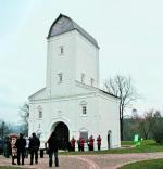 Эскпозиция водовзводной башни в Коломенском