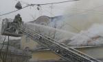 Исторический особняк в Замоскворечье загорелся сразу после ремонта
