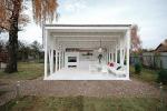 Павильон, который архитекторы Гикало и Купцов построили для телепрограммы «Дачный ответ»