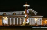 У новогодней подсветки в Петербурге нет автора