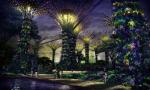 Самый большой проект сада для Сингапура
