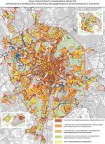 Основные направления развития жилых территорий в Москве