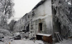 Жильцы хотят отстроить дачу Муромцева, «как только она оттает»