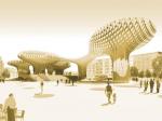 Архитектурные шедевры посредством склеивания