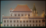 Проект реставрации Теремного дворца в Московском Кремле, показанный на выставке Арх Москва 2009