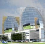 Яйца с подогревом. Архитектор Андрей Буслаев спроектировал технопарк в виде трех 12-этажных яиц и «дирижабля»